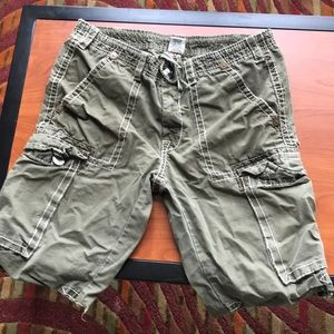 Authentic Men's True Religion Cargo Shorts
